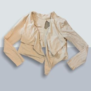Ivory Small Karma Draped Blazer